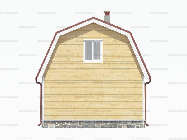 Деревянный дом 8х6 фото 4