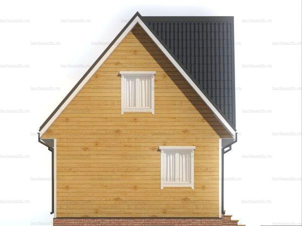 Дом с внутренней отделкой 7х6 фото 4