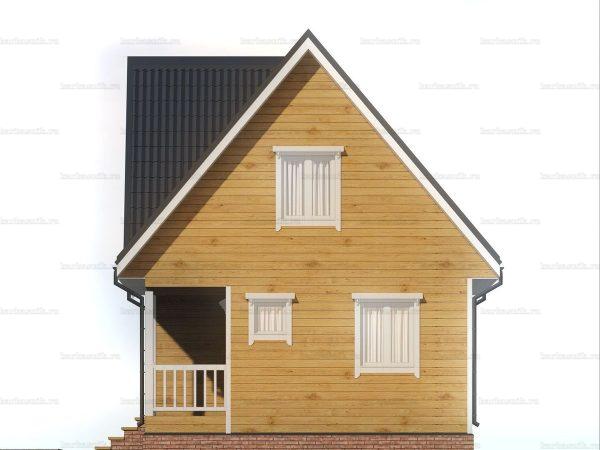 Дом с внутренней отделкой 7х6 фото 6