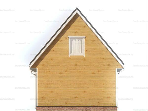 Красивый дом 6х6 фото 5
