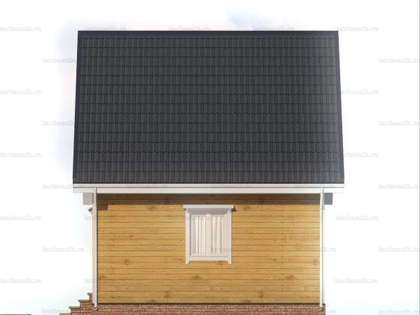 Красивый дом 6х6 фото 6
