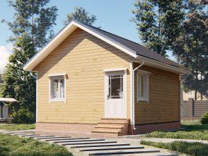 Дом с бесплатной доставкой 6 на 6