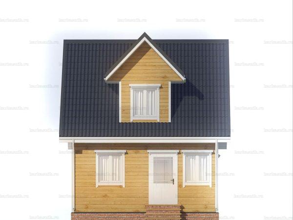 Дом с хорошей планировкой 6х6 фото 3