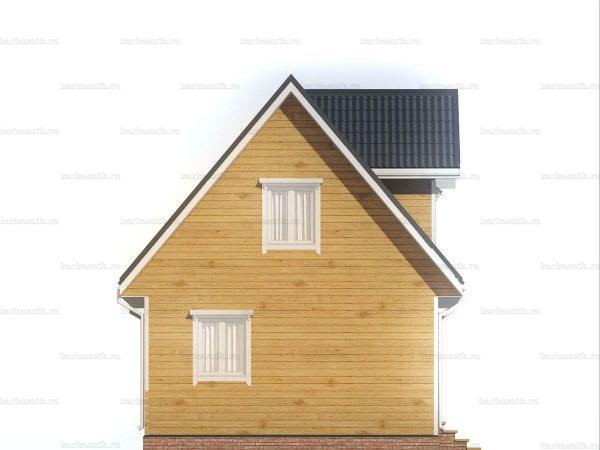 Дом с хорошей планировкой 6х6 фото 4