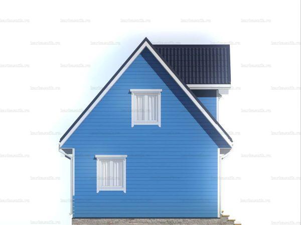 Садовый домик с двумя комнатами 6х6 фото 4