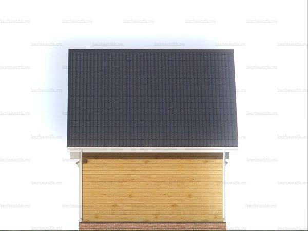 Дом с хорошей планировкой 6х6 фото 5