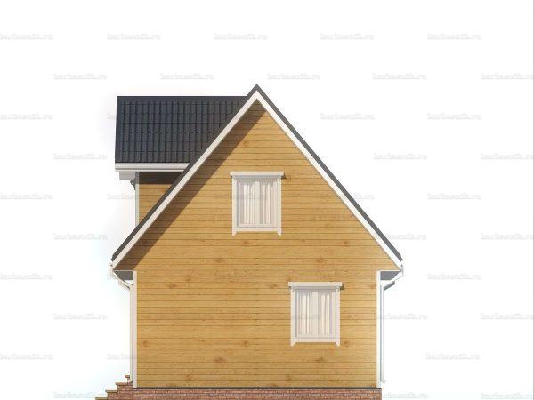 Дом с хорошей планировкой 6х6 фото 6