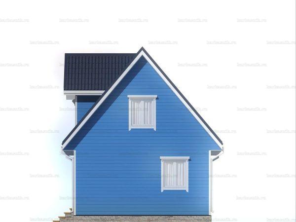 Садовый домик с двумя комнатами 6х6 фото 6