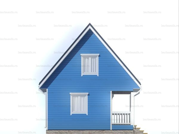Дачный дом с отделкой под ключ 6 на 6 фото 3