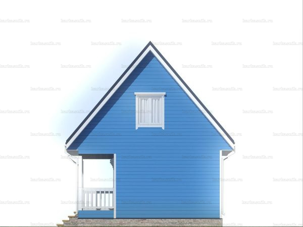 Дачный дом с отделкой под ключ 6 на 6 фото 5