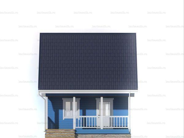 Дачный дом с отделкой под ключ 6 на 6 фото 6