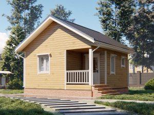 Дом из Пестова 6х6