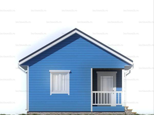 Одноэтажный дачный дом 6х6 фото 3