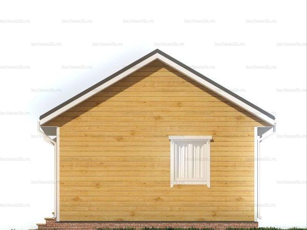 Дом из Пестова 6х6 фото 5