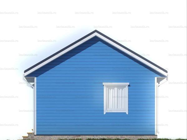 Одноэтажный дачный дом 6х6 фото 5