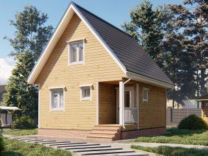 Дом правильной формы 7х6