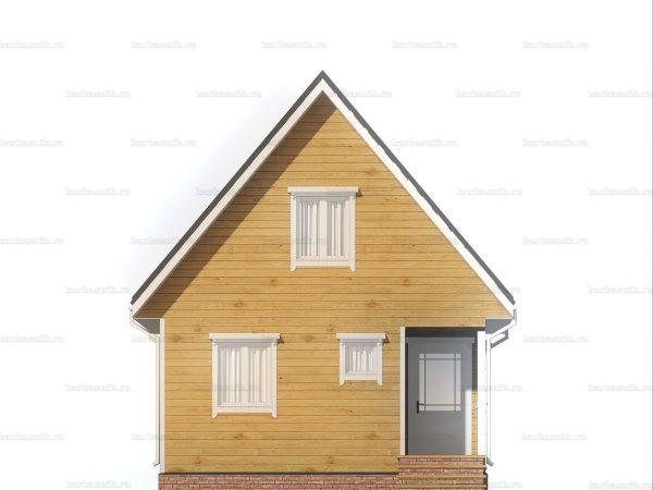 Дом правильной формы 7х6 фото 3