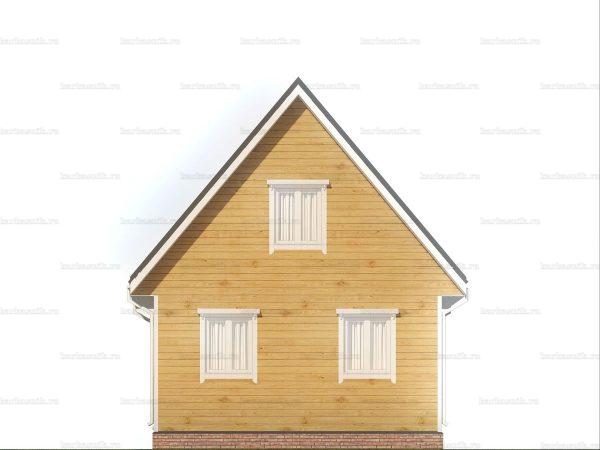 Дом правильной формы 7х6 фото 5