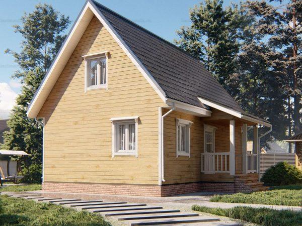 Загородный дом 9 на 6