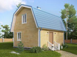 Дачный дом из бруса 6х6