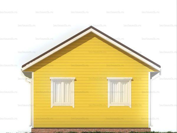 Дачный дом с террасой 7.5х6 фото 4
