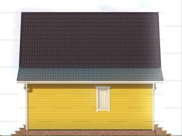 Большой каркасный дом 8х7.5 фото 6