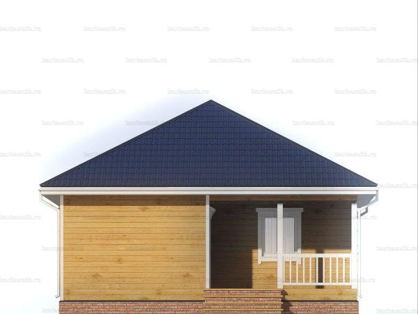 Дом с чертежом 8х8 фото 3