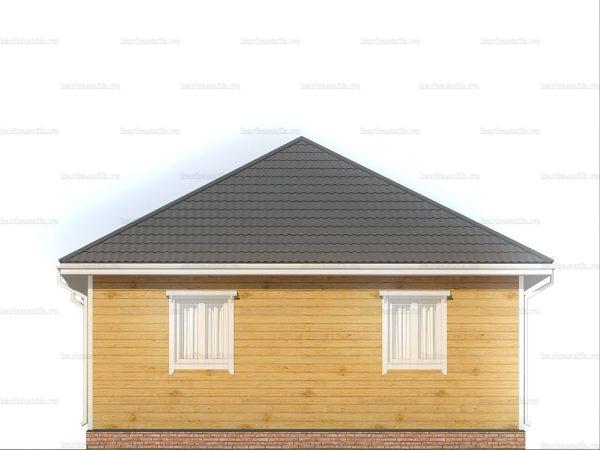 Дом с чертежом 8х8 фото 5