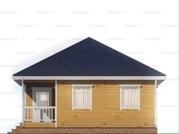 Дом с чертежом 8х8 фото 6