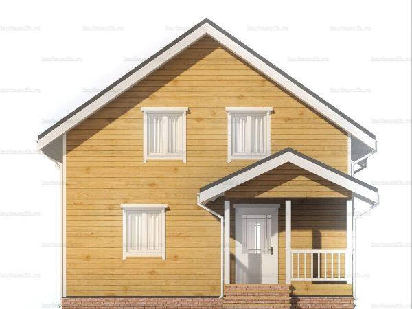 Постройка дома 8 на 8 фото 3