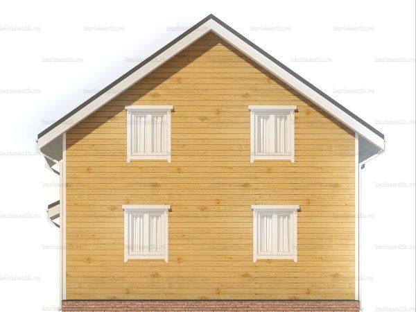 Постройка дома 8 на 8 фото 5