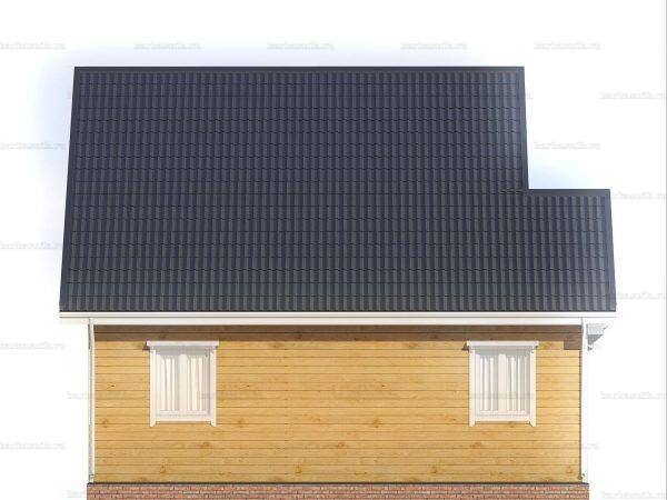 Дом с террасой 9х8.5 фото 4