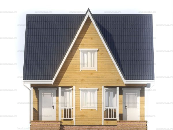 Дом со сборкой 8х7 фото 3