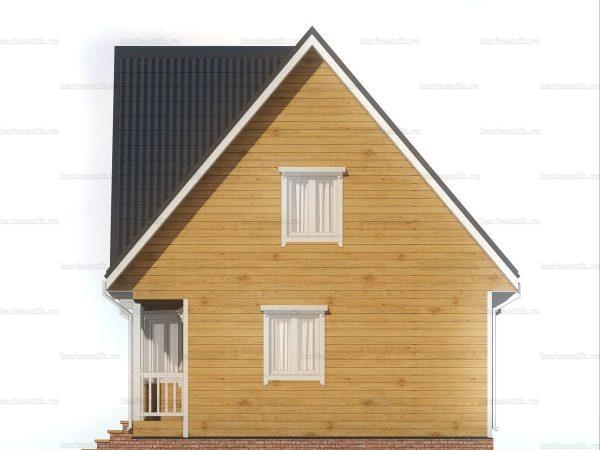 Дом со сборкой 8х7 фото 6