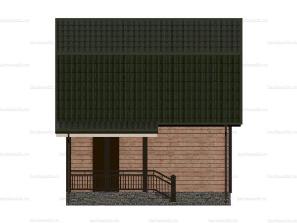 Лучший дом 6х6 фото 5