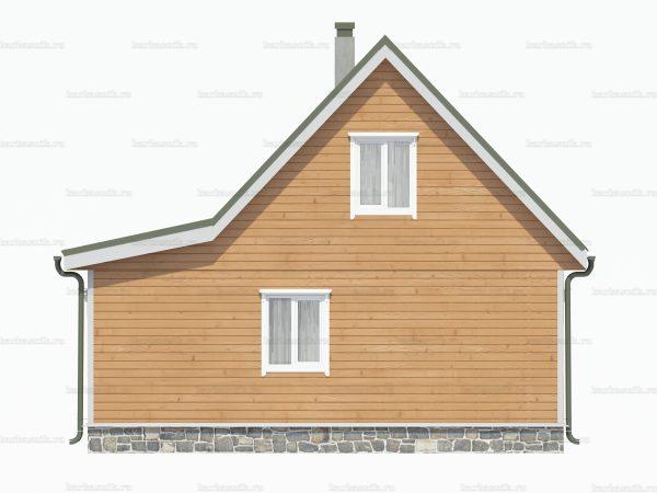 Построить дом 8х6 фото 3