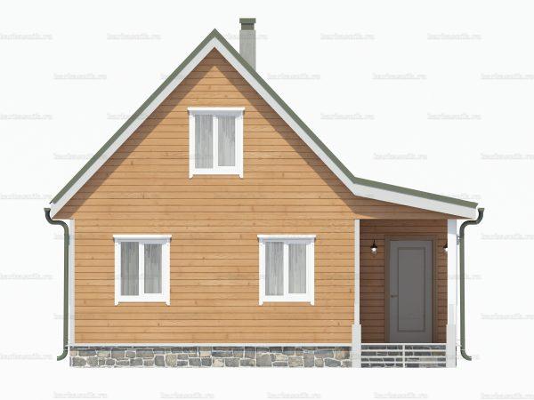 Построить дом 8х6 фото 5