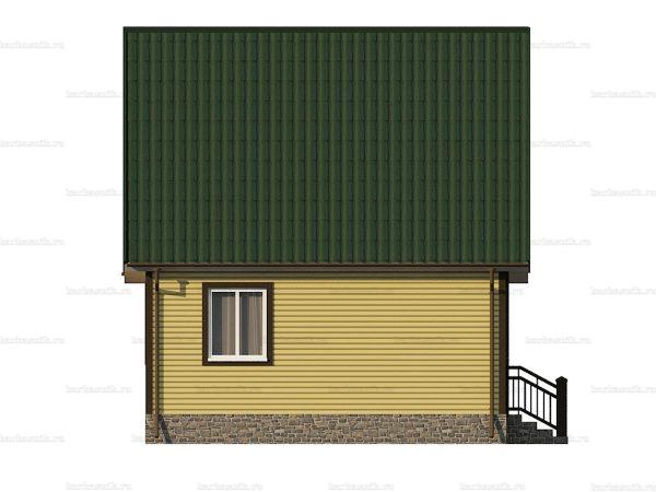 Каркасный дом с отделкой 8х6 фото 6