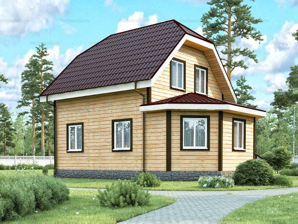 Дом с установкой 8.5х6