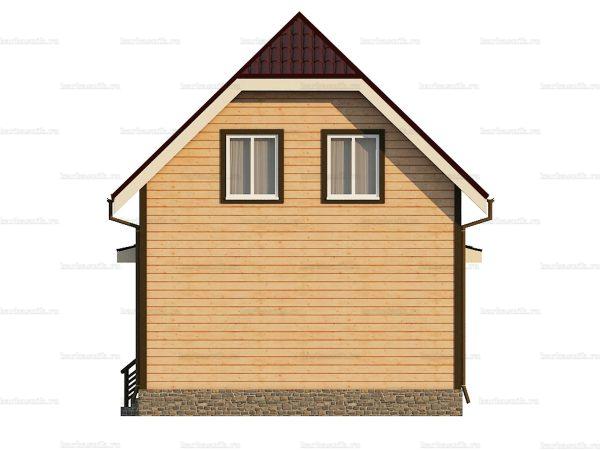 Дом с установкой 8.5х6 фото 4