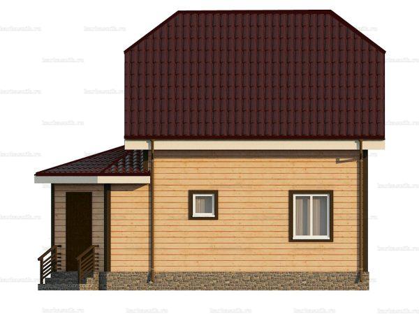 Дом с установкой 8.5х6 фото 5