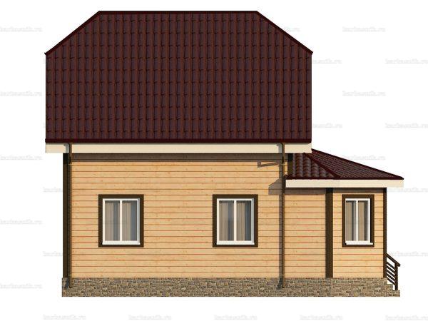 Дом с установкой 8.5х6 фото 6