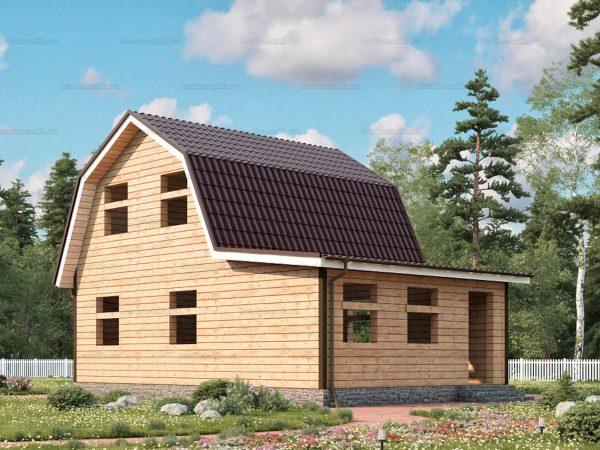 Проект дачного домика 9х6 для проживания