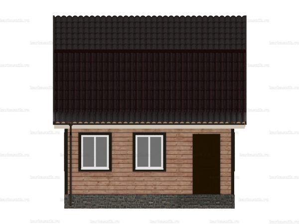 Дом из бруса с внутренней отделкой 9х6 фото 4