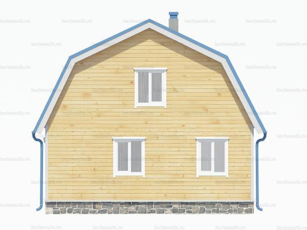 Дом из бруса8х7.5 фото 3