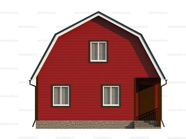 Каркасный дом для проживания 8х7.5 фото 3