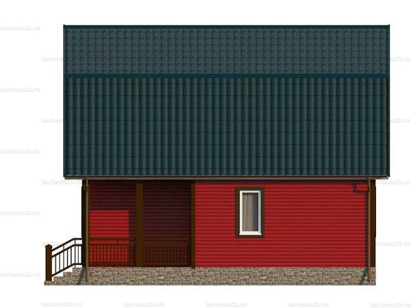 Каркасный дом для проживания 8х7.5 фото 4
