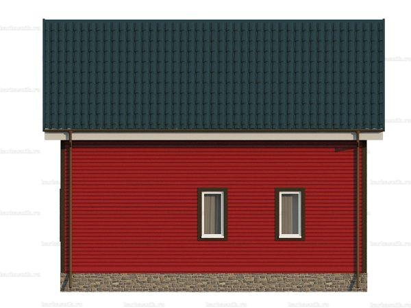 Каркасный дом для постоянного проживания 8х6 фото 5