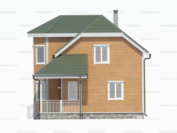 Загородный дом 9 на 8 фото 3