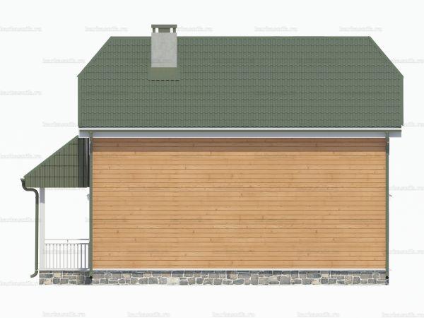 Загородный дом 9 на 8 фото 4
